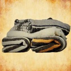 Handgewebte Wolldecken für dein Mittelalter Reenactment