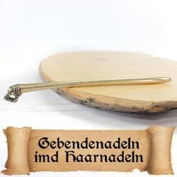 Gebendenadeln und Haarnadeln für Mittelalter Reenactment