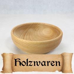 Holzwaren für das Mittelalter Lager nach historischem Vorbild