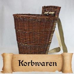 Mittelalter Korbwaren Körbe, Kiepen und mehr