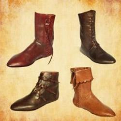 Mittelalter Schuhe auf Maß gefertigt für Dich - Stiefel, Halbstiefel, Sandalen und mehr