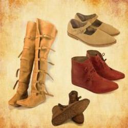 Mittelalter Schuhe für dein Reenactment - von Früh-bis Spätmittelalter
