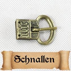 Mittelalterliche Gürtelschnallen für die Gewandung