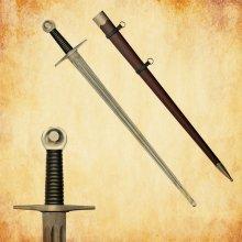 ritterliche Schwerter von Wikinger bis Spätmittelalter