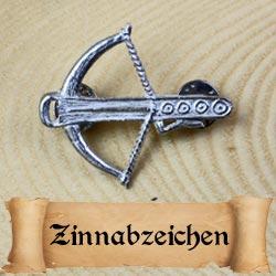 Zinnabzeichen für Spätmittelalter Reenactment