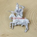 Jousting pewter badge 1350-1400