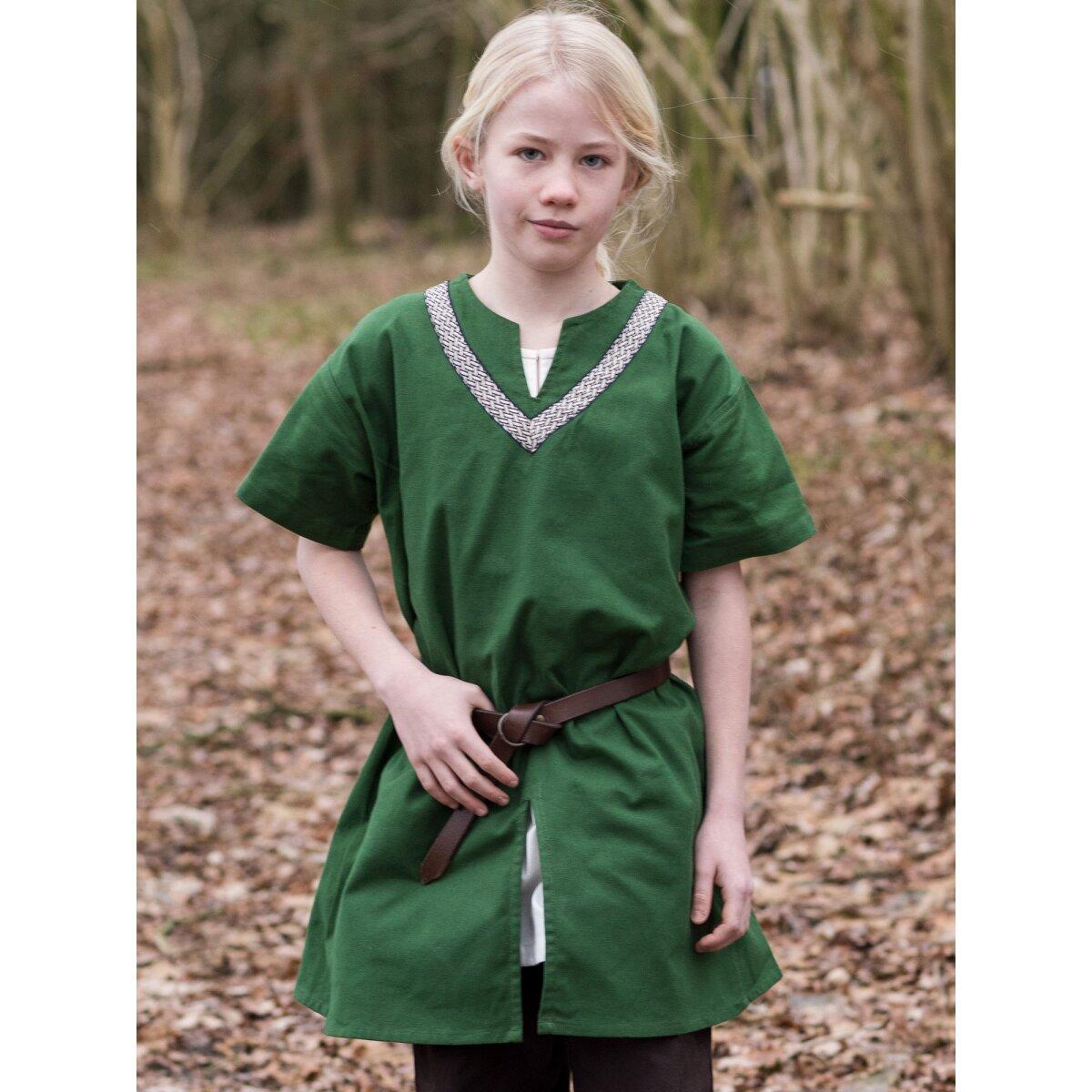 edel rot Junge Kordel-Gurt Ritter 12213513F Kinder-Tunika T-Shirt Mittelalter