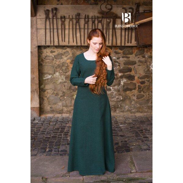 Mittelalter Kleid Typ Unterkleid Freya Grün XXL, 38,99