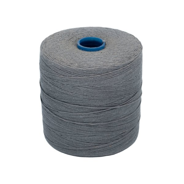 12 times twisted linen yarn grey